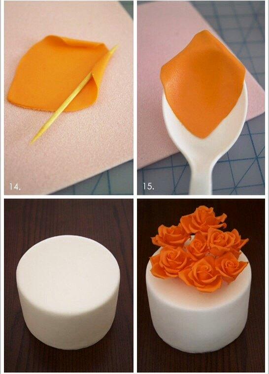 Как делать торты из мастики с пошаговым