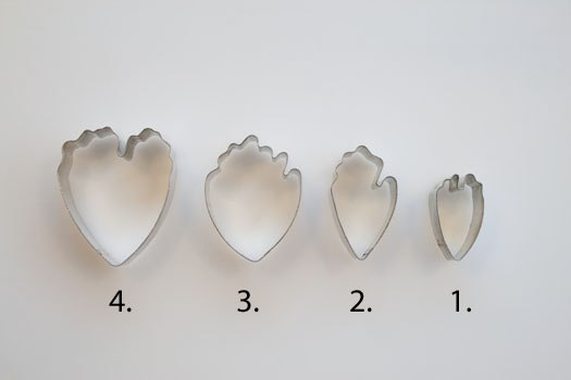 Вырубки для мастики своими руками фото