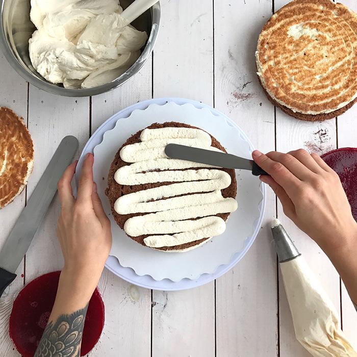 Основы сборки торта